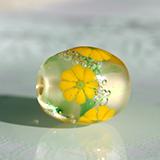 とんぼ玉 板花